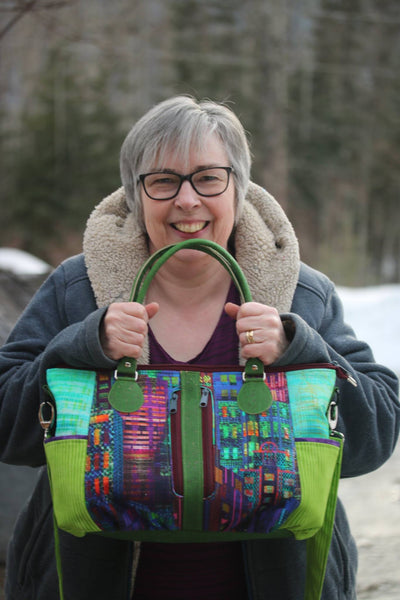 The Amaryllis Tote - PDF sewing pattern