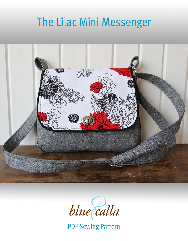 Free the lilac mini messenger pdf sewing pattern blue calla free the lilac mini messenger pdf sewing pattern jeuxipadfo Image collections