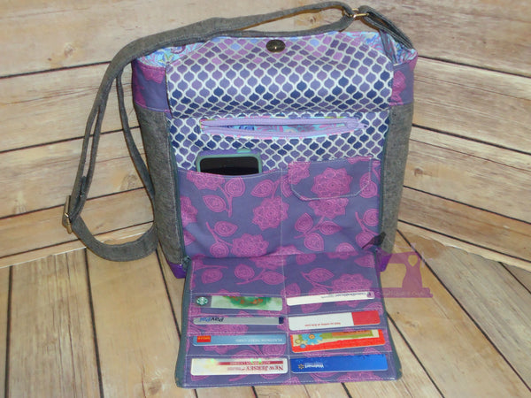 The Oleander Organizer Bag Pdf Sewing Pattern Blue
