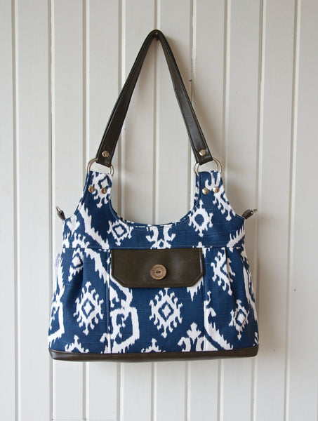 The Iris Convertible Shoulder Bag - PDF Sewing Pattern