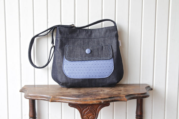 FREE The Thistle Pocket Tote Cross Body Bag - PDF Sewing Pattern