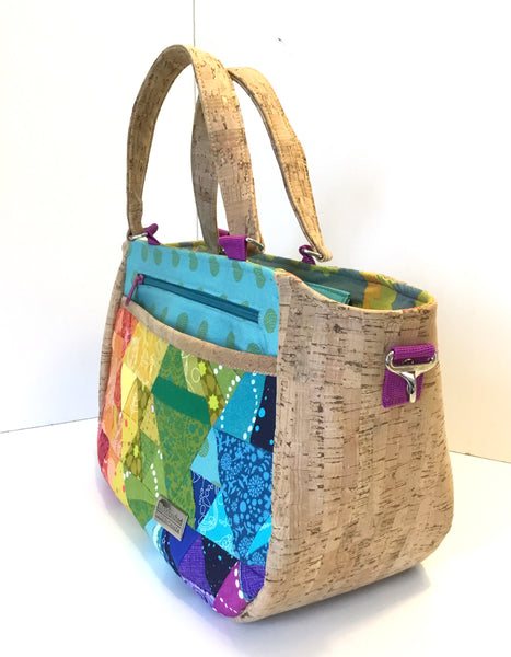 The Daffodil Tote in 2 sizes - PDF Sewing Pattern