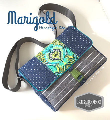 The Marigold iPad Messenger Bag - PDF Sewing Pattern