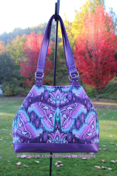 The Lotus Handbag - PDF Sewing Pattern