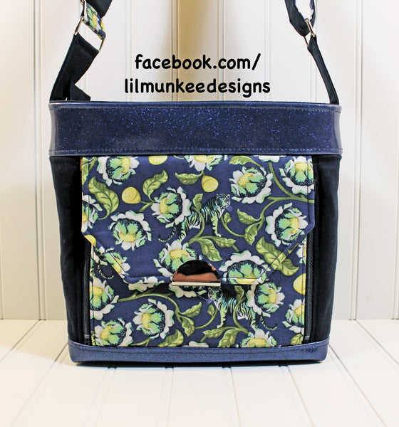 The Oleander Organizer Bag - PDF Sewing Pattern