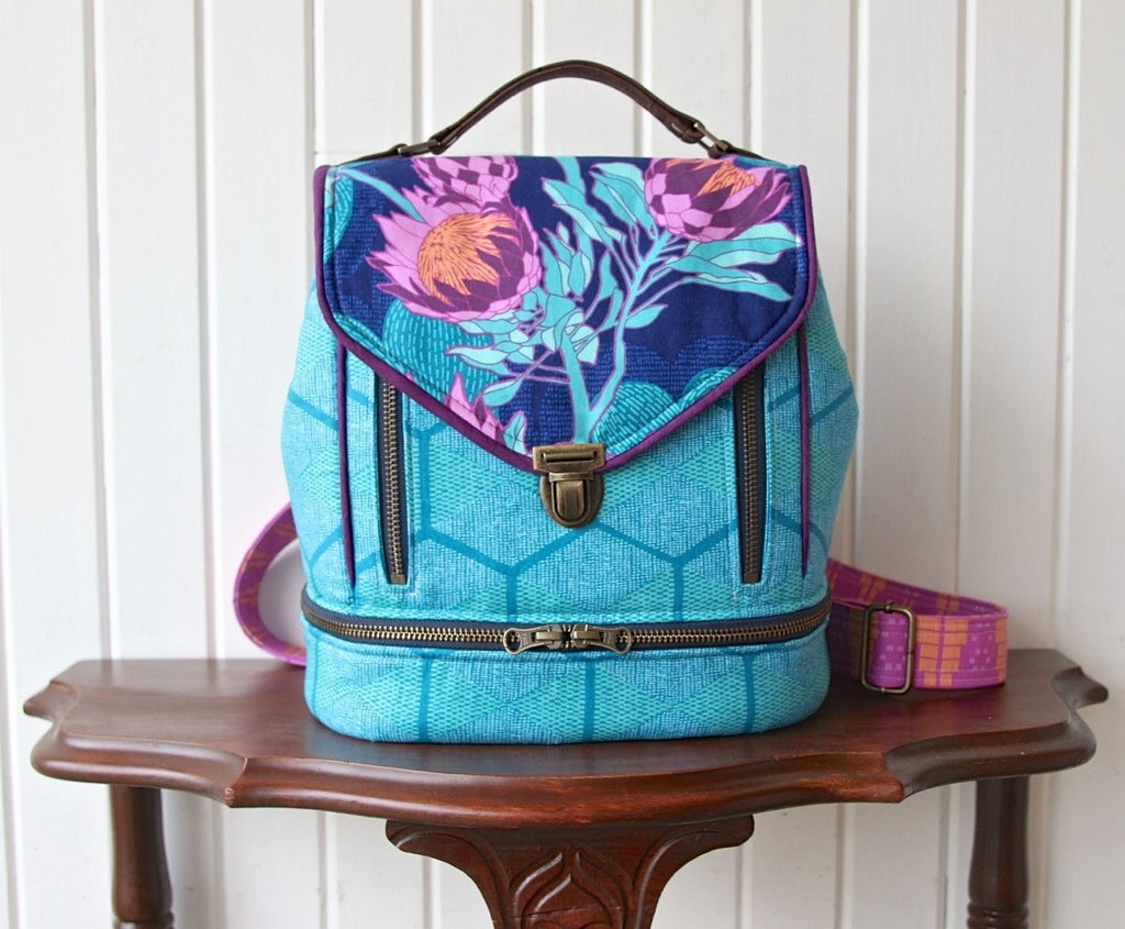 The Clover Convertible Bag Pdf Sewing Pattern Blue Calla Patterns