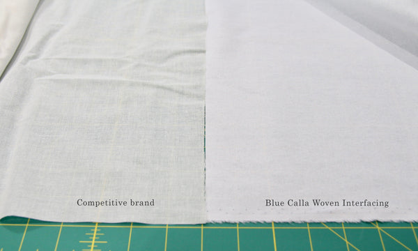 Fusible woven interfacing - medium weight