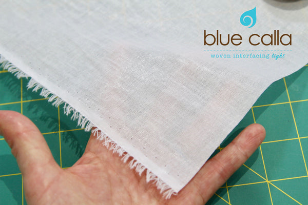 Fusible woven interfacing - light weight