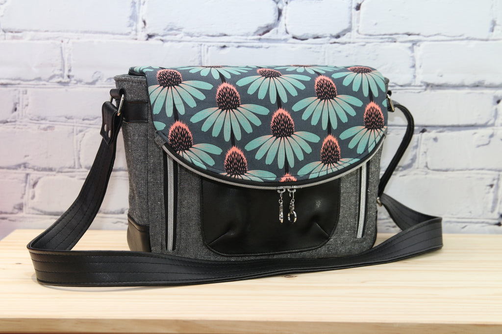 The Lunaria Satchel  - PDF sewing pattern