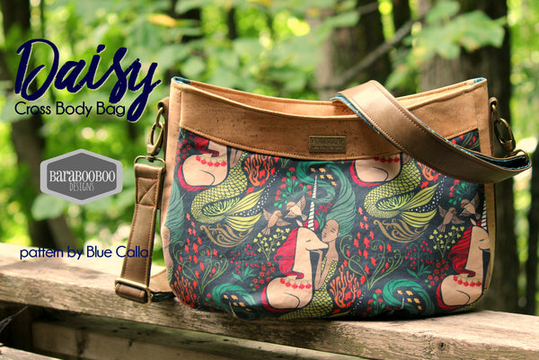 The Daisy Cross Body Bag - PDF Sewing pattern