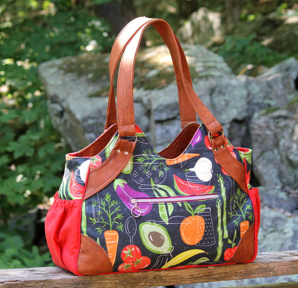 The Sunflower Tote - PDF sewing pattern