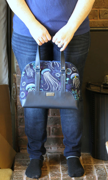 The Boronia Bowler Bag Pdf Sewing Pattern Blue Calla