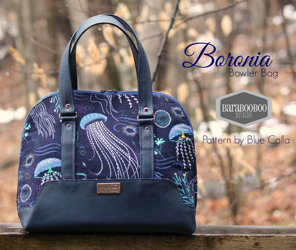 The Boronia Bowler Bag - PDF Sewing pattern