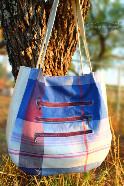 The Lantana Shoulder Bag - PDF Sewing pattern