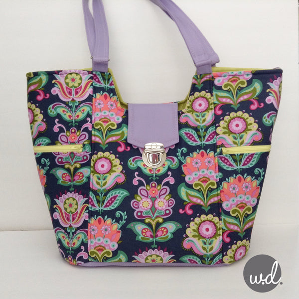 The Mimosa Market Tote - PDF Sewing Pattern