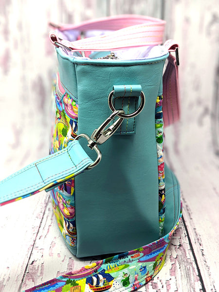 The Stonecrop Organizer Satchel - PDF Sewing Pattern