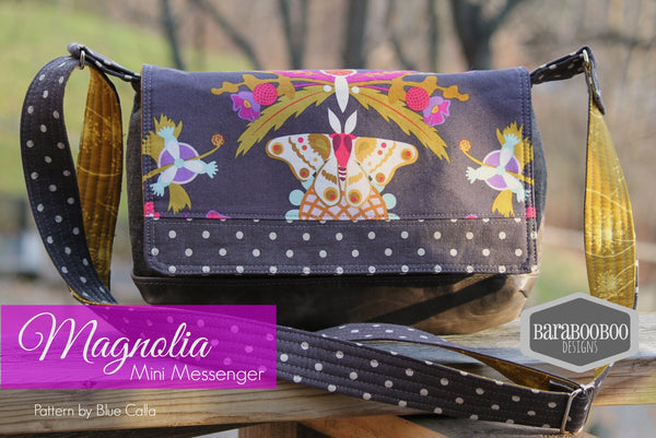 The Magnolia Mini Messenger - PDF Sewing Pattern