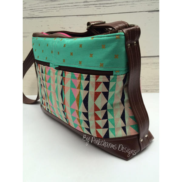 The Tansy Zippered Tote - PDF Sewing Pattern