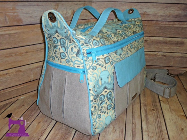 The Dogwood Travel Duffel Bag - PDF Sewing pattern