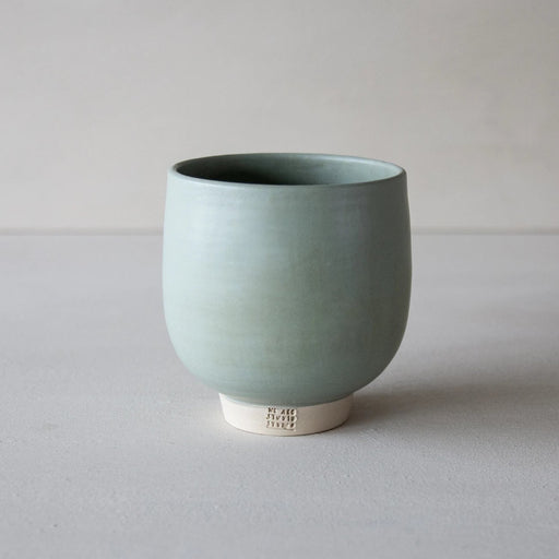 WE ARE STUDIO STUDIO - Becher Yonka - Fine, Mint-Grey