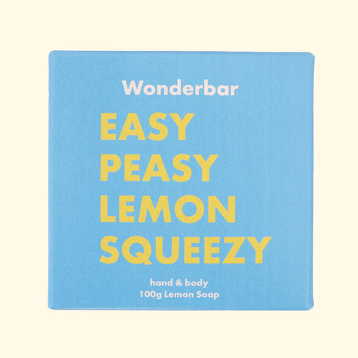 Wonderbar - Seifenstück EASY PEASY LEMON SQUEEZY