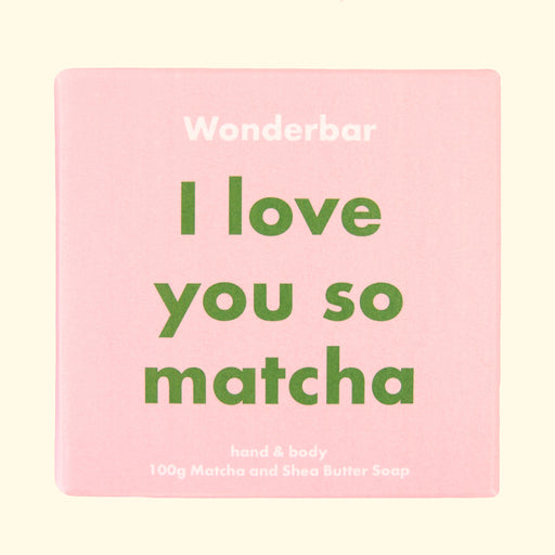 Wonderbar - Seifenstück I LOVE YOU SO MATCHA