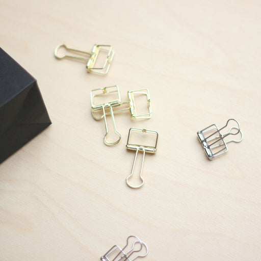 TOOLS TO LIVEBY - Binder Clips, 19mm Small