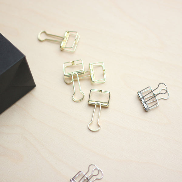 Binder Clips - 19mm Small