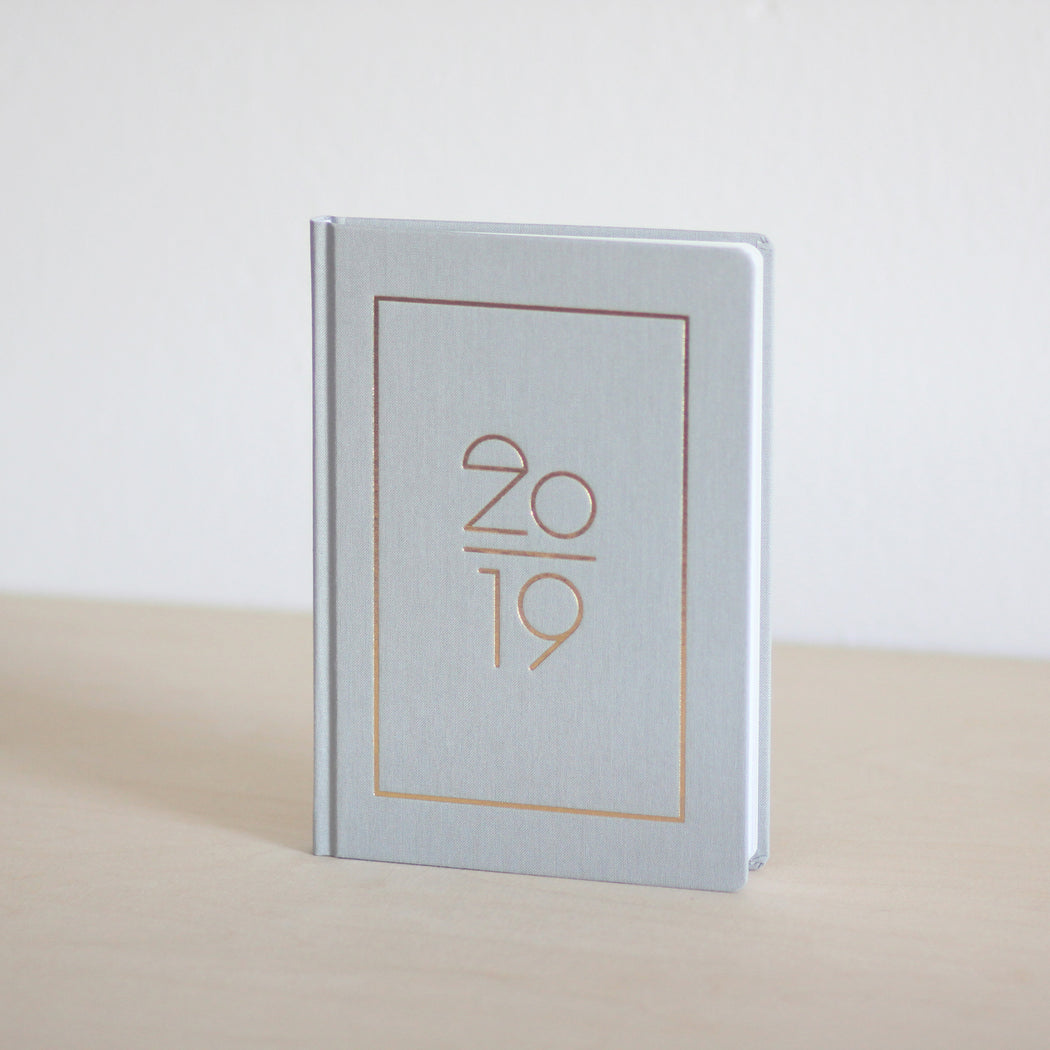 Hardcover Kalender 2019, DIN A5 - Typo 2019