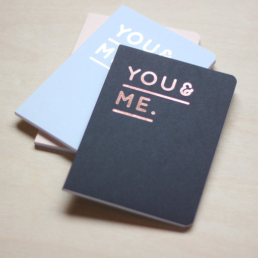 Notizheft - You&Me, DIN A6