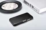 Vintage Leather Magnet Folio Case iPhone 11 - Black