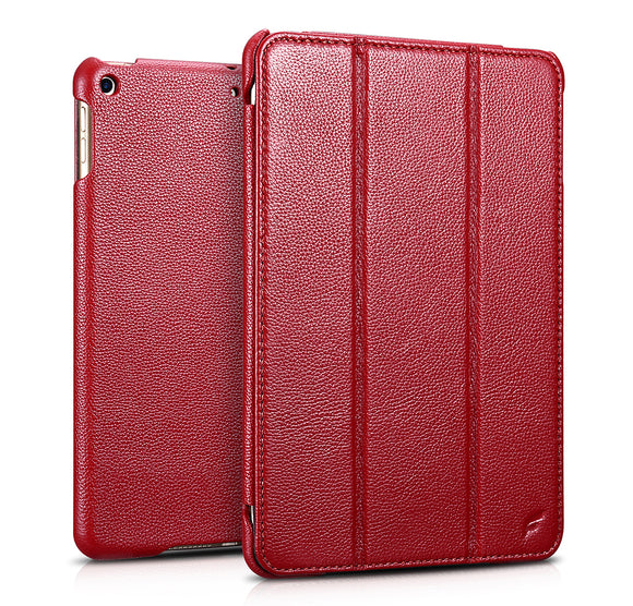 Classic Leather Case iPad Mini 5 Red