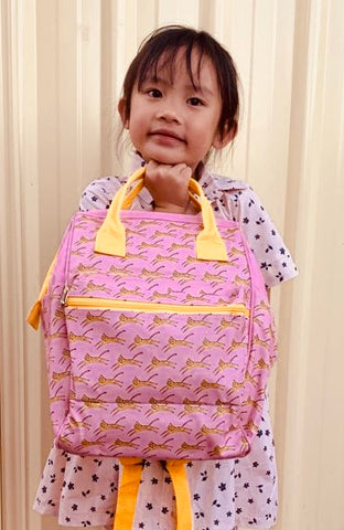 Backpack - Pink Leopard