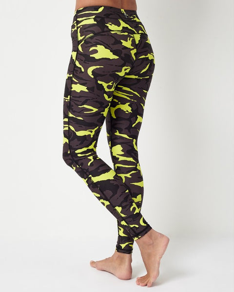Combat Neo Black Leggings