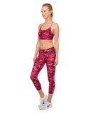 Combat Red 7/8 Leggings