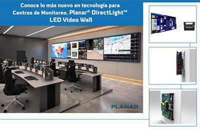 Video Wall DirectLight LED de Planar