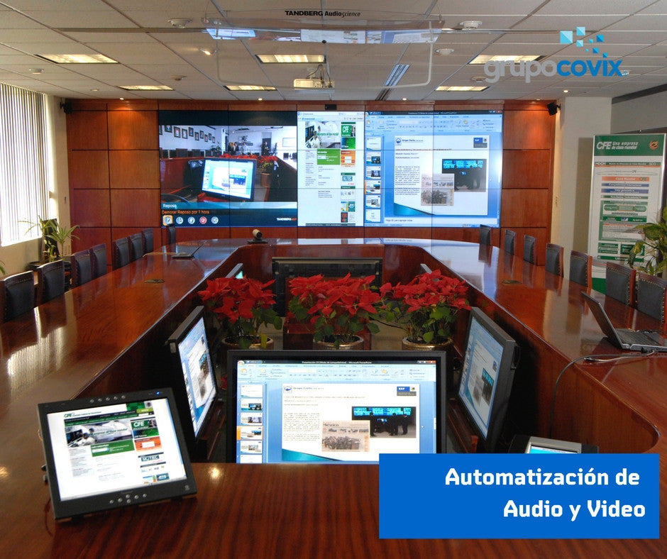 Automatización de Audio y Video