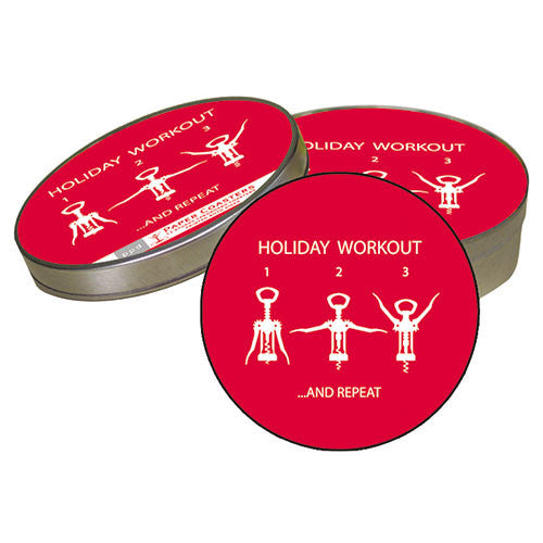 Coaster Set- Holiday Workout