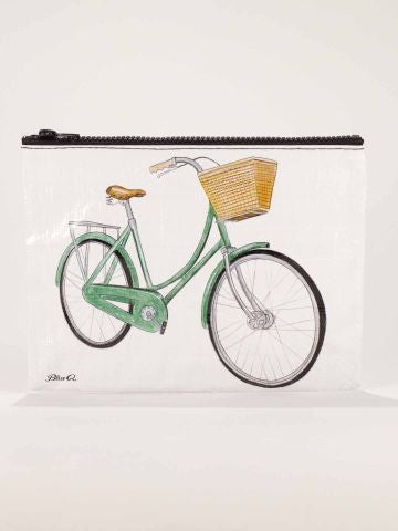 Pouch - Bicycle Zipper
