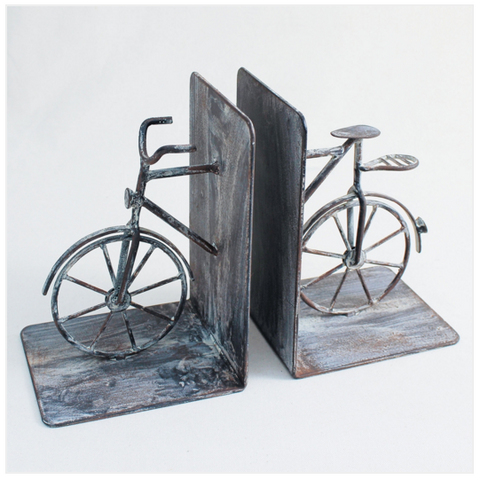 Jardin Fer Bicycle Bookends