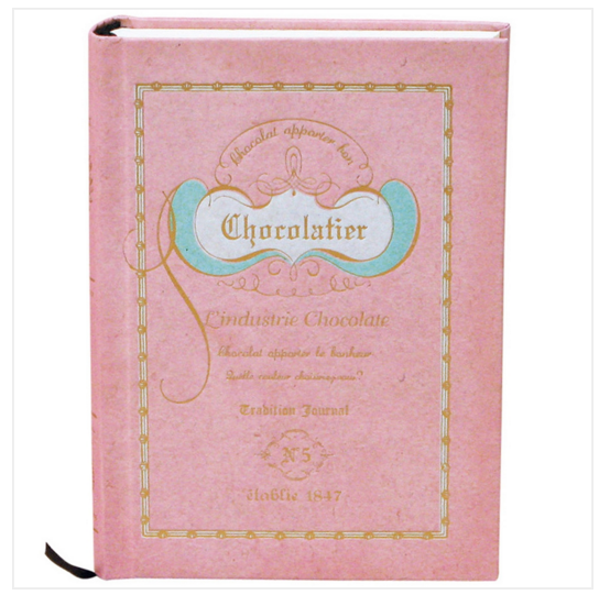 Chocolatier Book Notebook - Strawberry