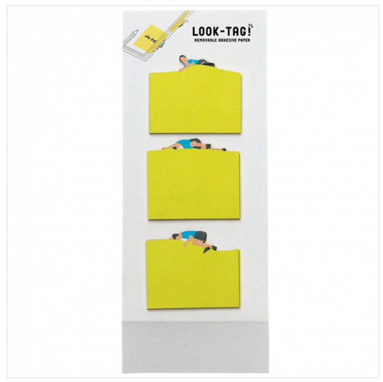 Look Tag! Removable Adhesive Paper - Climbing