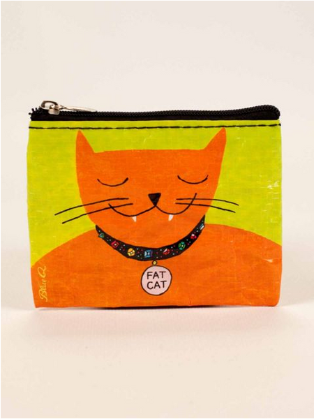Coin Purse - Fat Cat