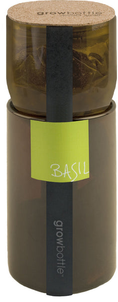Grow Bottle Basil