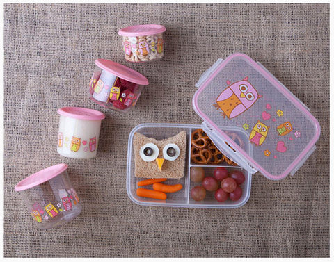 Good Lunch® Snack Containers Small Set-of-Two - Hoot!™