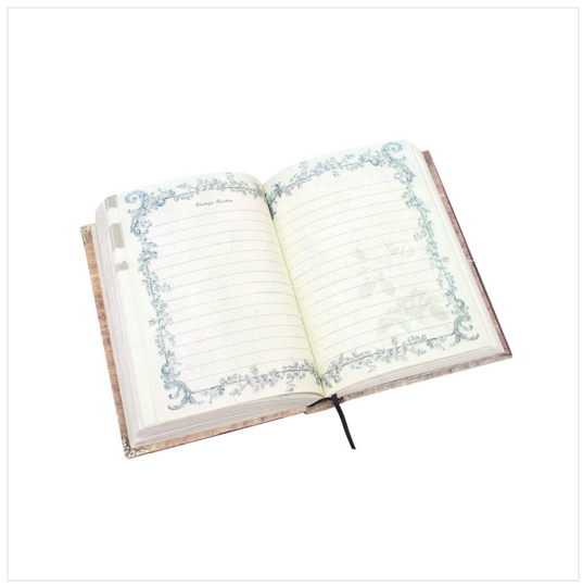 Florist A6 Diary Notebook Rose