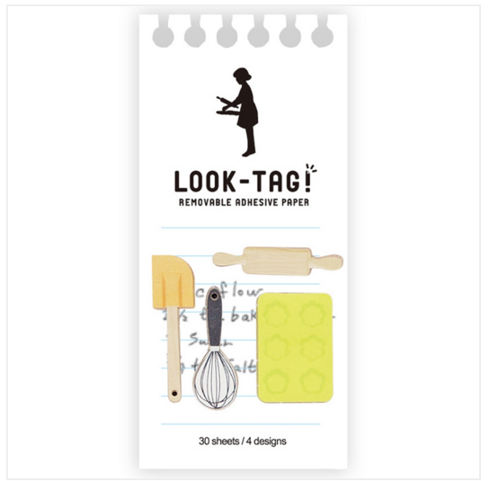 Look Tag! Removable Adhesive Paper - Patissier