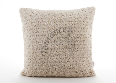 Duo Tone Pillow (Rosebud cream & Camel)