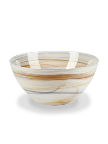 Alabaster Large Deep Bowl