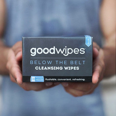 Below the Belt Cleansing Wipes for Guys